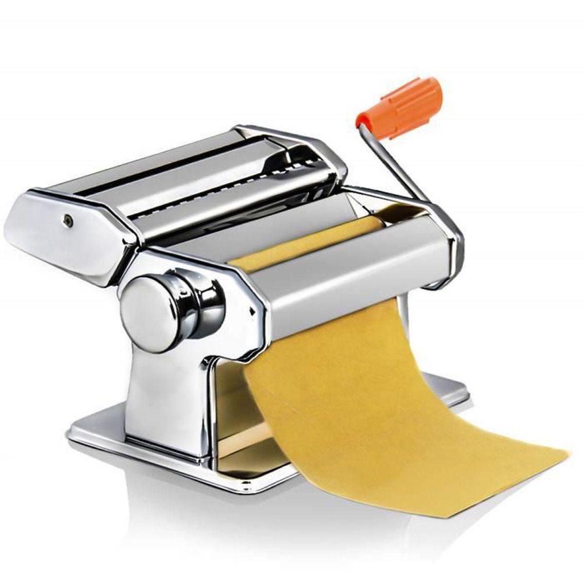 ACCESSOIRE MACHINE PATE Machine à Pâte Fraiche 3 En 1 En Acier Inoxydable