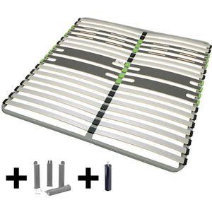 SOMMIER AltoZone - Pack Sommier 2x16 Lattes 120x190cm + Pi