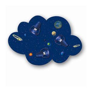APPLIQUE  Applique Murale Enfant Bleu Univers