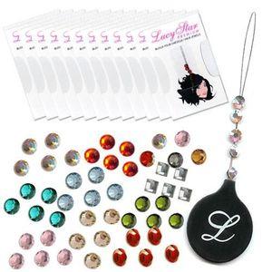 TATOO - BIJOU DE CORPS Lot de 100 pochettes de bijoux pour cheveux, color