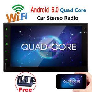 AUTORADIO Android 6.0 Système stéréo voiture pour Universal