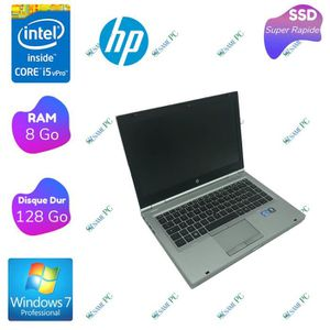 ORDINATEUR PORTABLE HP EliteBook 8460p - Intel Core i5 2520M - RAM 8 G