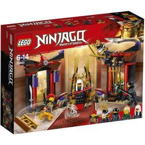 ASSEMBLAGE CONSTRUCTION LEGO® NINJAGO® 70651 Confrontation Salle du Trône
