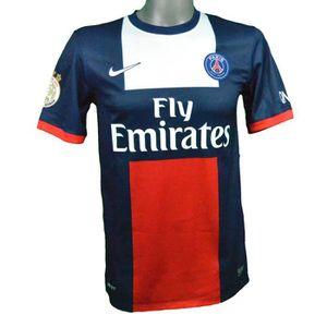 PARIS SAINT GERMAIN T-Shirt PSG Ibrahimovic Lavezzi Cavani Silva Luiz Collection Officielle Taille Enfant gar/çon