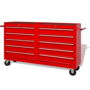 DESSERTE CHANTIER Chariot à outils Armoires à outils rangement Serva