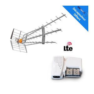 ANTENNE RATEAU TELEVES Pack Antenne DAT HD BOSS 790 LR 4G LTE 19d