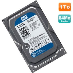 DISQUE DUR INTERNE Disque Dur 1To Western Digital Blue SATA 3.5