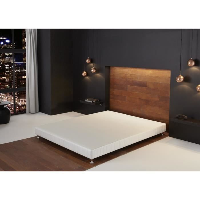 simmons sommier 160 2x80x200cm ressorts 2 personnes. Black Bedroom Furniture Sets. Home Design Ideas