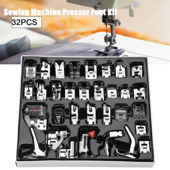 32pcs - set Pieds-de-biche de machine à coudre de ménage de pied Accessoire pour machine à coudre---SEV