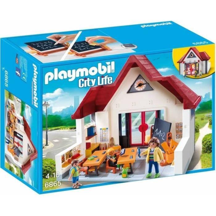 Playmobil école aménagée