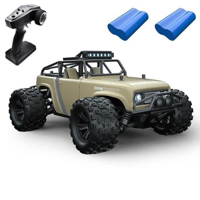 RC Voiture télécommandée,40 KM/H,1:18 Voitures de Course Buggy,2.4 GHz Haute Vitesse Voiture Camion Jouets pour Adulte et Enfants Ve