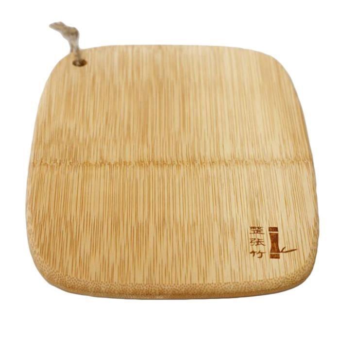 Planche à découper,Planche à découper en bois bambou naturel, outil bloc à découper en bois pour la cuisine planches à découper