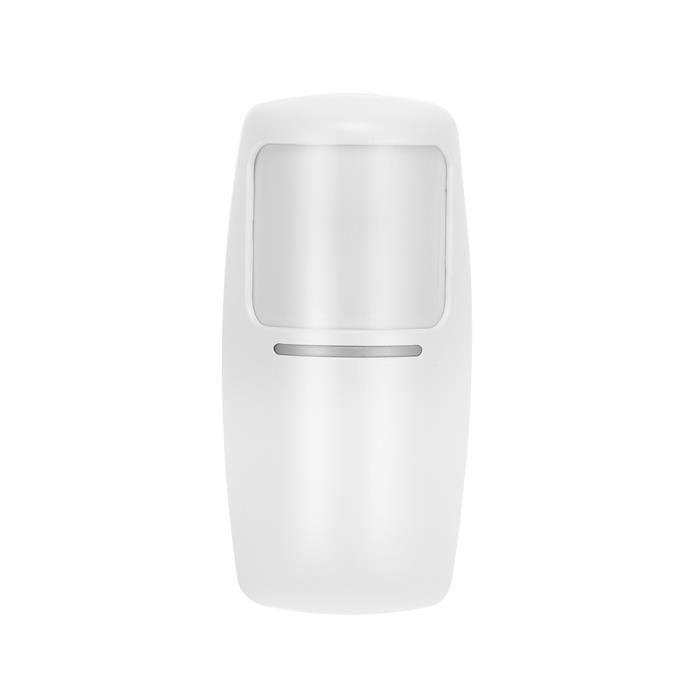 OWSOO Détecteur infrarouge double sans fil PIR 433Mhz RF Capteur de mouvement PIR pour système d'alarme de sécurité domotique