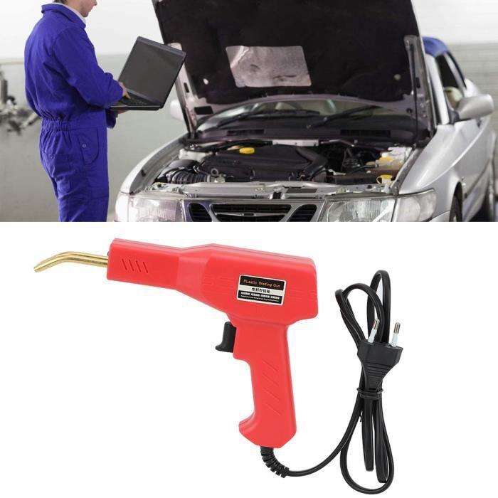 Machine de soudeuse de torche de soudage en plastique de pare-chocs de voiture automatique pour la réparation en plastique