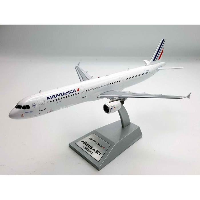 Maquette AIR FRANCE AIRBUS A321-200 F-GTAZ 1/200 Métal