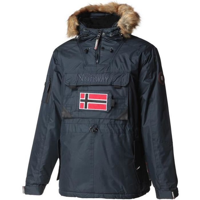 GEOGRAPHICAL NORWAY Parka Barbier New 001 - Homme - Marine