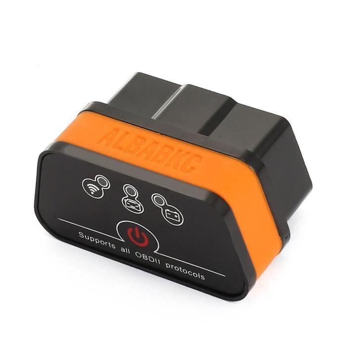 Outil de diagnostic universel de véhicule de voiture de lecteur de code du lecteur de code OBD2 d'ACCAR2 Wi-Fi