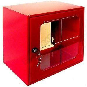 Boîte sous verre dormant 250x250x150mm 215231 Boît