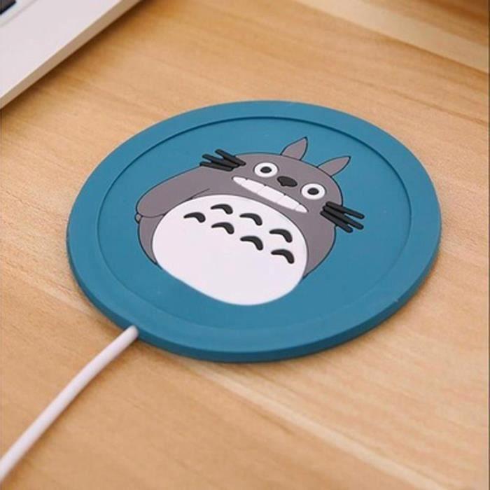 SHOP-STORY - Chauffe Tasse USB - Manga Bleu foncé