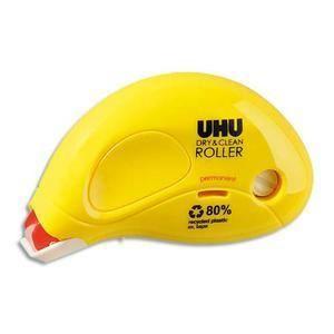 UHU Dry & Clean Glue Roller Permanent 9,5m x 6,5mm