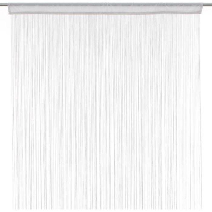 RIDEAU Rideau fils - 90 x 200 cm - Blanc