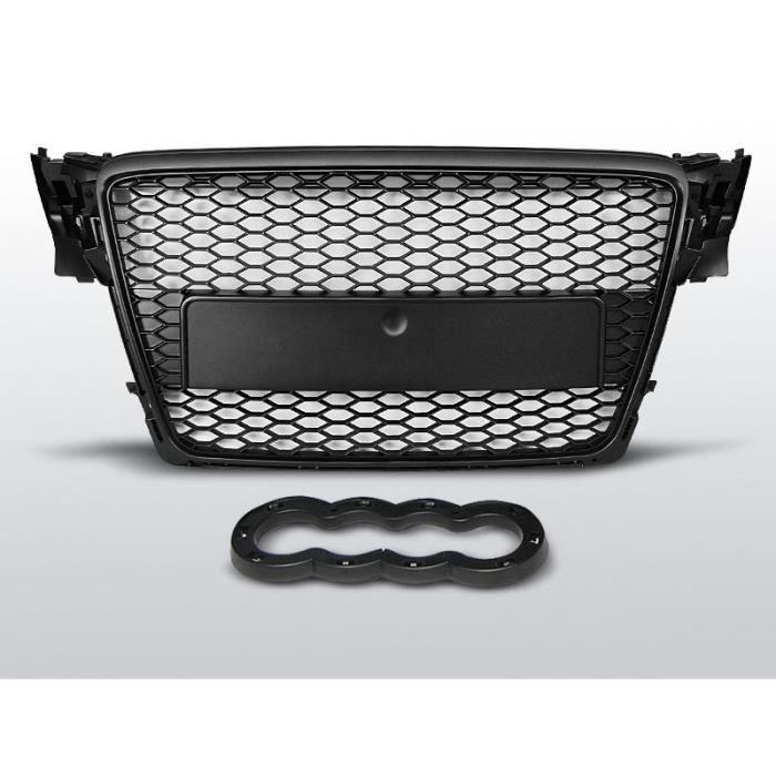 Shop Import Grille de calandre U02 A4 B8 08-11 Look RS Chrome