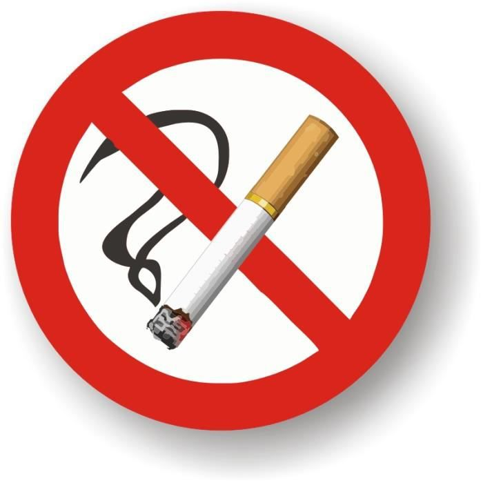 Autocollants interdiction de fumer cigarette achat vente signal tique ext rieure - Logo interdiction de fumer ...