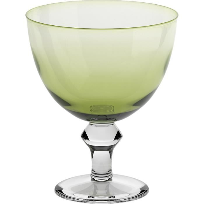 Coupes glace grande vert 14 cm achat vente for Grande glace