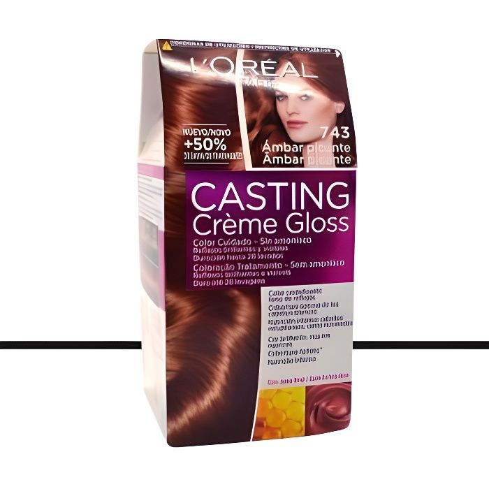coloration loral coloration casting crme gloss743 cuivr - Casting Coloration