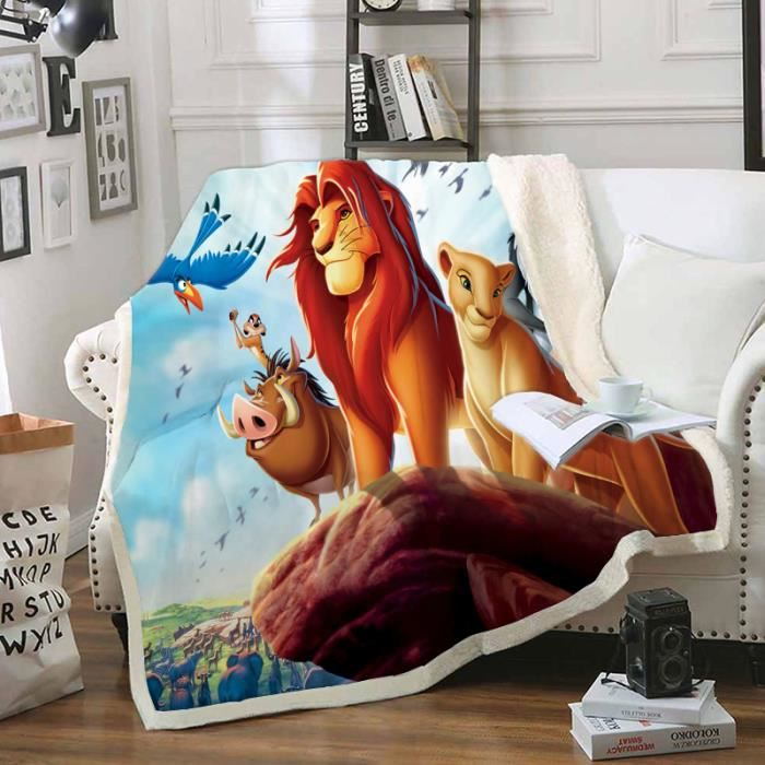nouveau-n/és Hdadwy Le Roi Lion Couverture pour nouveau-n/é pour b/éb/é Couverture chaude pour lit de b/éb/é Convient pour unisexe nourrissons et enfants Swaddle 30x40 pouces filles gar/çons