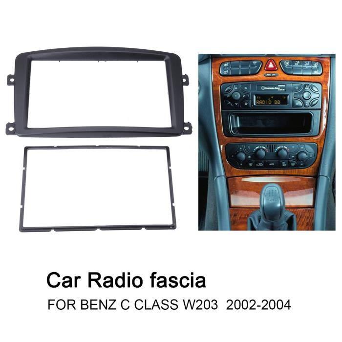 Mercedes Simple Din CD Voiture Radio Stéréo Façade Contour Plaque Adaptateur