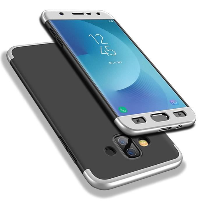 360 Degres Coque pour Samsung Galaxy J7 Duo 2018 F
