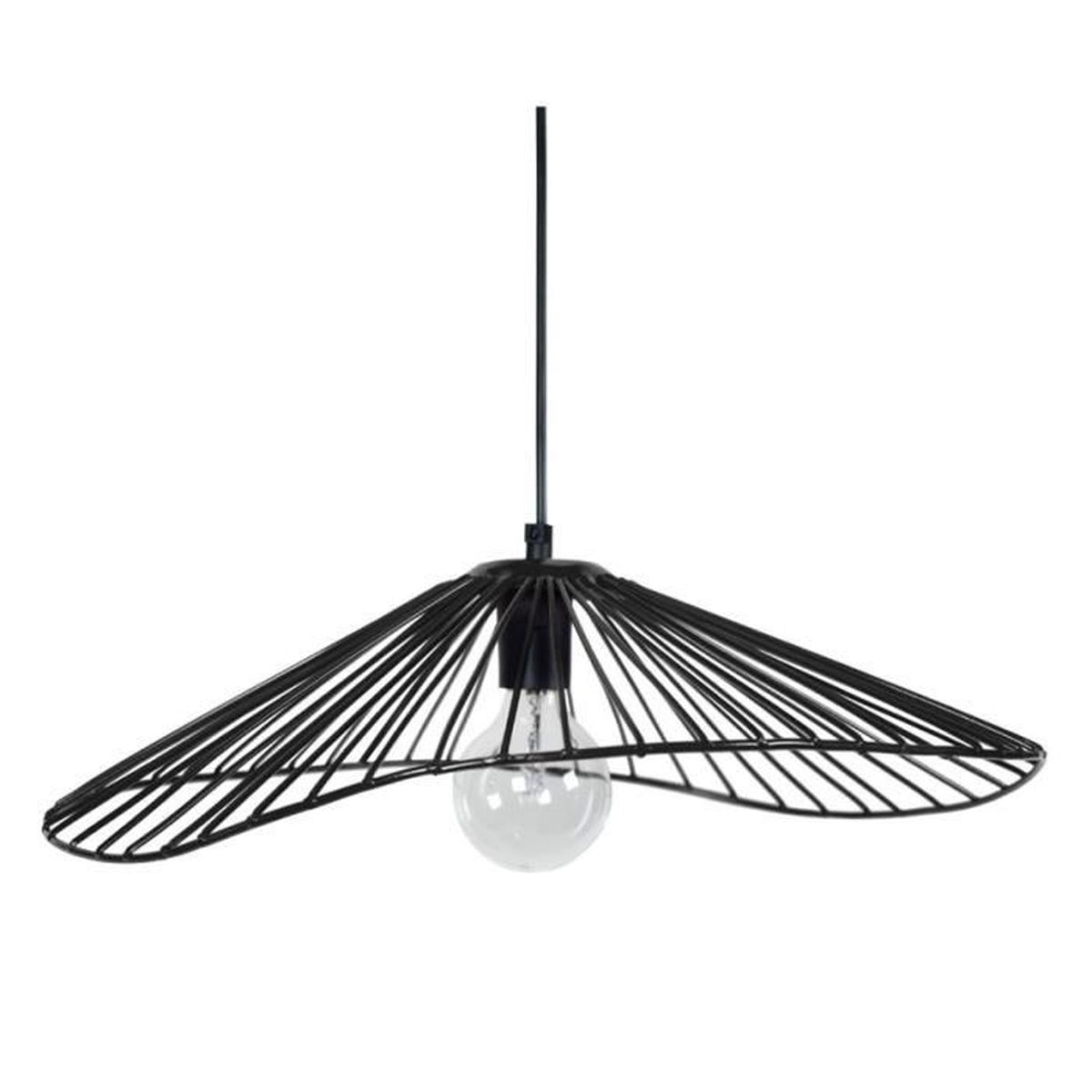 Luminaire suspension ring cvl luminaires suspension lamp for Suspension boule noire