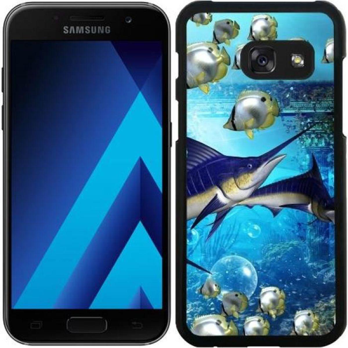 Coque pour Samsung Galaxy A5 2017 (SM-A520) - Monde Sous-marin ...