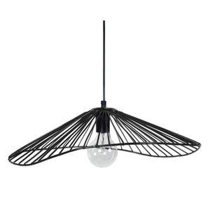 LUSTRE ET SUSPENSION LADY Lustre suspension filaire - E27 - 40W- Noir -