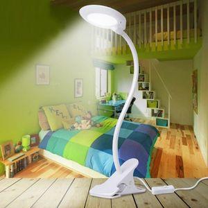 LAMPE A POSER LED USB réglable lampe de lecture à pince Clamp La