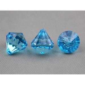 Décors de table Paquet de 100 pampille faux diamant décoration mar