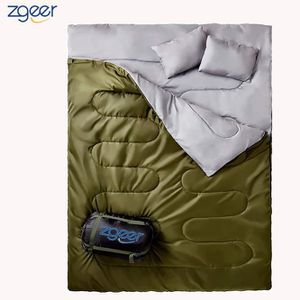 SAC DE COUCHAGE Double sac de couchage - Taille XL, Camping ou Ran