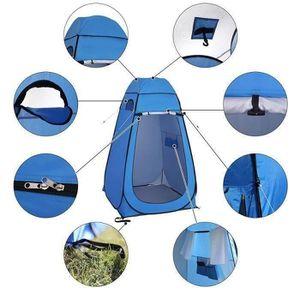 Vestiaire avec sac de transport pour les voyages de randonn/ée en plein air Tente de confidentialit/é portable escamotable Tente de douche de camping /étanche Abri de confidentialit/é escamotable