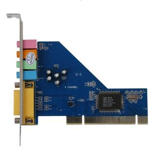 CARTE SON INTERNE 4 canaux C-Media 8738 Puce 3D Audio stereo interne