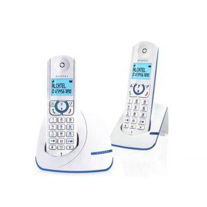 Téléphone fixe Téléphone fixe - Alcatel - Versatis F390 Duo Sans