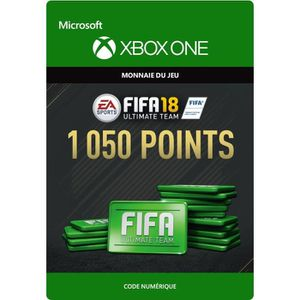 EXTENSION - CODE FIFA 18 Ultimate Team: 1050 Points pour Xbox One