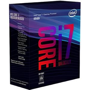 PROCESSEUR INTEL Processeur Core i7-8700K Coffee Lake - 3.70G