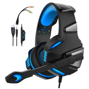 CASQUE AVEC MICROPHONE Casque Gaming pour PS4, PC, Xbox One, Casque Gamer
