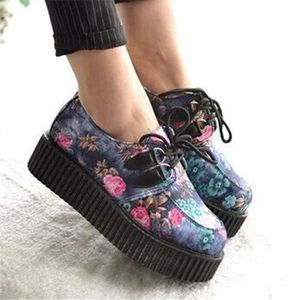 DERBY Bottines bottes chaussure talon creepers rock mota