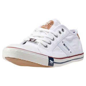 BASKET Mustang Low Top Hommes Baskets White - 46 EU