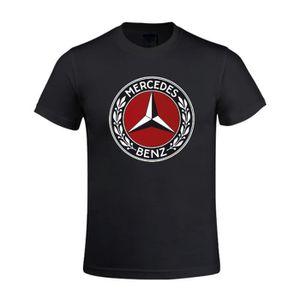 T-SHIRT T-shirt Homme Mercedes Benz symbol Manches courtes