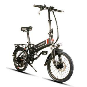 VÉLO ASSISTANCE ÉLEC Vélo Electrique 20LVXD30 Batterie 8AH/48V - 7 vite