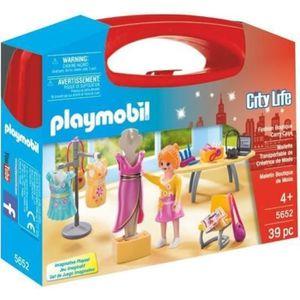 UNIVERS MINIATURE PLAYMOBIL 5652 - City Life - Valisette Créatrice d