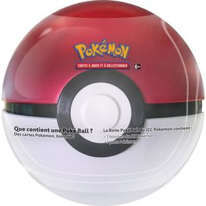 CARTE A COLLECTIONNER POKEMON - Pokéball Tin - 3 boosters + 1 jeton (30